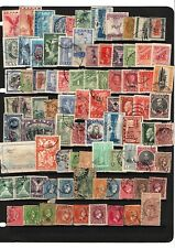 GREECE, LOT OF USED STAMPS, 5 PAGES
