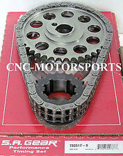 SB Ford 302 351W Late HD Billet Race Roller Timing Chain 9 Keyway 78551T-9G
