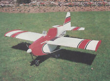 1//8 Scale Super Decathlon Aerobatic Plane Plans Templates and Instructions 65ws