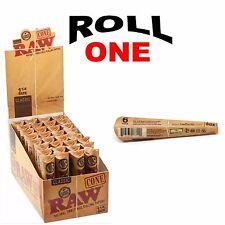 Box 32 Packs Raw Classic 1 1/4 Cones 6 cones per pack pre rolled 1.25