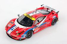 Ferrari 458 Italia Gt2 4.5L V8 Af Corse #83 Le Mans 2016 Looksmart 1:43 LSLM039