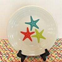 Fiestaware Coastal Starfish Lunch Plate Fiesta Retired Exclusive 9 in Luncheon