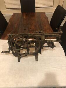 ANTIQUE 1889 RIVAL NO. 2 MODEL 96 CAST IRON APPLE PEELER/CORER
