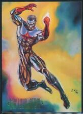 1994 DC Master Series Trading Card #20 Captain Atom