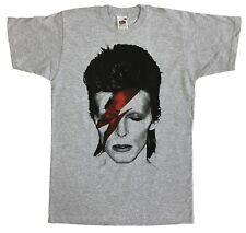 David Bowie Grey T shirt Ziggy