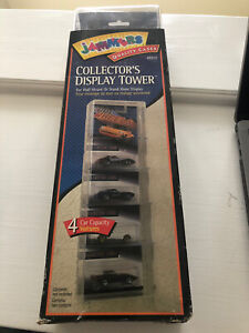 Jammers Collector Car Plastic Display Case Tower (1068).  Holds 4