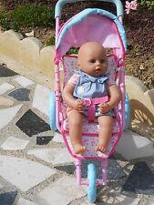 poussette compatible avec poupée antonio juan, baby annabell, 45cm