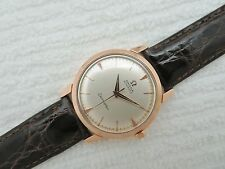 "1958 Rare OMEGA SEAMASTER ""Tresor"" Automatic 18K ROSE GOLD 2866 SC Wristwatch"