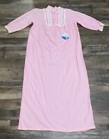 Adorable Lingerie Inc Womens Nightgown Pink Size Medium Full Length NEW Vintage