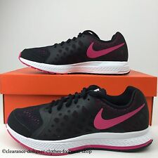 NIKE ZOOM PEGASUS 31 GS TRAINERS WOMENS GIRLS RUNNING BLACK SHOE UK 5 RRP £110