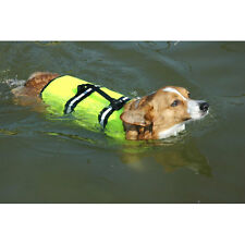 Neon Yellow Doggy Life Jacket