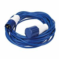 14m Caravan Camping Hook Up Cable 16A Site Extension Lead Electric FREE POST