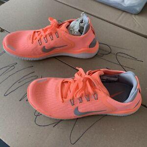 Nike Free Run 2018 942837-800 Pink/grey worn once