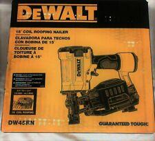 Dewalt Next Generation 15 Deg 1-3/4 in. Pneumatic Coil Roofing Nailer Dw45Rn