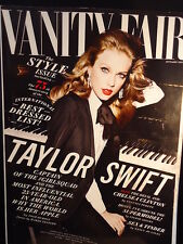 VANITY FAIR Magazine # 661  TAYLOR SWIFT  September 2015 Vintage Back Issue RARE