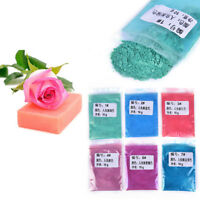 Healthy Natural DIY Mineral Mica Powder Soap Dye Glittering Soap Colorant 10g UK