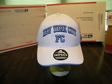 NEW YORK CITY FOOTBALL CLUB HAT CAP SNAPBACK, ADIDAS OFFICIAL MLS, NWT