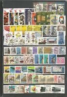 DDR 1981 gestempelt komplett mit allen Einzelm aus Bl+ZD gute Stempel