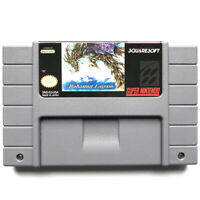 Bahamut Lagoon video game cartridge for snes English translate