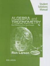 ALGEBRA AND TRIGONOMETRY - LARSON, RON - NEW PAPERBACK BOOK