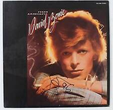 David Bowie Signed Record