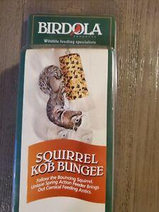Birdola Squirrel Kob Bungee FUN Feeding Antics NEW