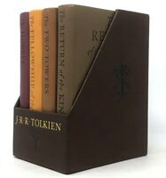 Lord of the Rings + The Hobbit Boxed Set 4 Leather Feel by JRR Tolkien BRAND NEW