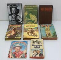 BOOK LOT Roy Rogers Gene Autry Dale Evans rin tin tin Whitman Publishing