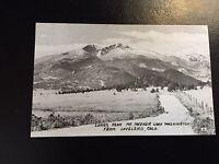 Vintage Postcard Longs Peak Mt. Meeker Lady Washington From Loveland Colorado