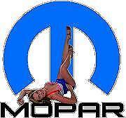 """Mopar Pin up girl 2 Sticker / Decal size 5"""" wide for car, truck, van, laptop,"""