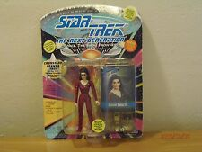"Star Trek Next Gen. The Final Frontier. Counserlor Deanna Troi 5""in 1993 !!!!!"