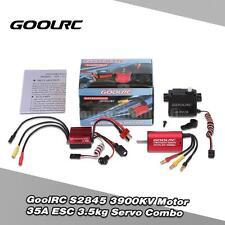 GoolRC S2845 3900KV Motor 35A ESC 3.5kg Servo Combo for 1/12 1/14 RC Car P4Q3