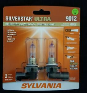 Sylvania Silverstar ULTRA 9012 Pair Set High Performance Headlight 2 Bulbs NEW