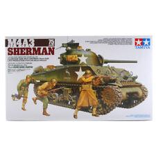 Tamiya M4A3 Sherman 75 mm Pistola Modelo Set (escala 1:35) 35250 Nuevo