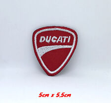 Ducati Corse Racing Italy Biker 7.5cm x 5cm Embroidered Sew or Iron on Badge