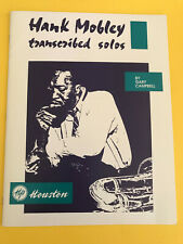 Hank Mobley transcribed Solos, Gary Campbell