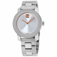 MOVADO 3600084 Bold Silver Dial Stainless Steel Watch