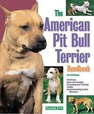 American Pit Bull Terrier Handbook (Barron's Pet Handbooks)-ExLibrary