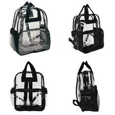 Clear Plastic Tote Bags For Women Transparent Waterproof Backpack Hang Purse