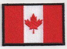 PATCH RICAMO TOPPA BANDIERA FLAG CANADA cm. 5,5X8