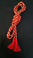 CINCTURE GOLD RED WITH RED FRINGES Alb, albe, albs, robe, cord , Vestment CG-C