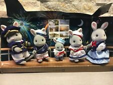 Sylvanian Families 25 Year Celebration Sea Breeze Sailor Rabbit Family New RARE