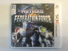 Replacement Case (NO GAME) Metroid Prime: Federation Force - Nintendo 3DS
