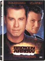 Broken Arrow (DVD, 1999) John Travolta Christian Slater NEW