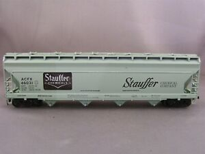 Athearn - Stauffer Chemicals - 55' Covered Hopper + Wgt # 46031