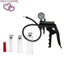 Clitoris Enhancement and Excitement Kit Size Matters With Pressure Gauge Pump