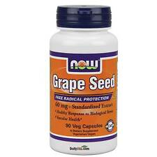 NOW FOODS OPC Grape Seed Extract Antioxidant 90 VCap, FRESH Made In USA,FreeShip