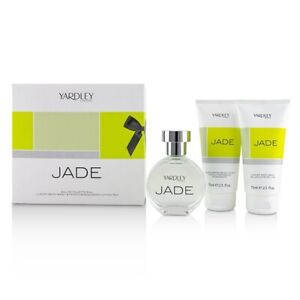 Yardley London Jade Coffret: EDT Spray 50ml/1.7oz + Luxury Body Wash 3pcs