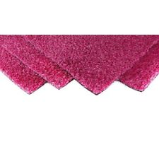 Lawn Turf Artificial Grass Carpet Pink Blend Synthetic Indoor Outdoor Durable
