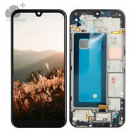 For Boost Mobile LG Tribute Monarch LM-K300TM LCD Touch Screen Digitizer Frame